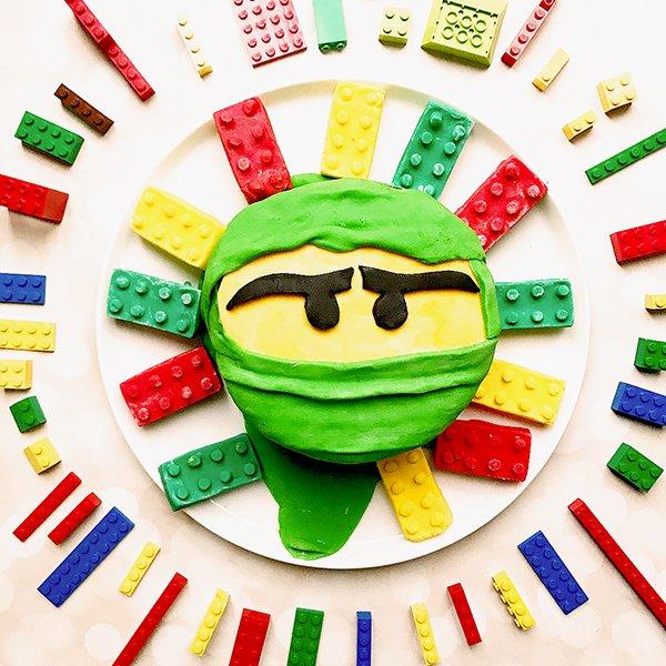 Awe Inspiring Lego Ninjago 8Th Birthday Cake Hungry Hijabi Birthday Cards Printable Opercafe Filternl